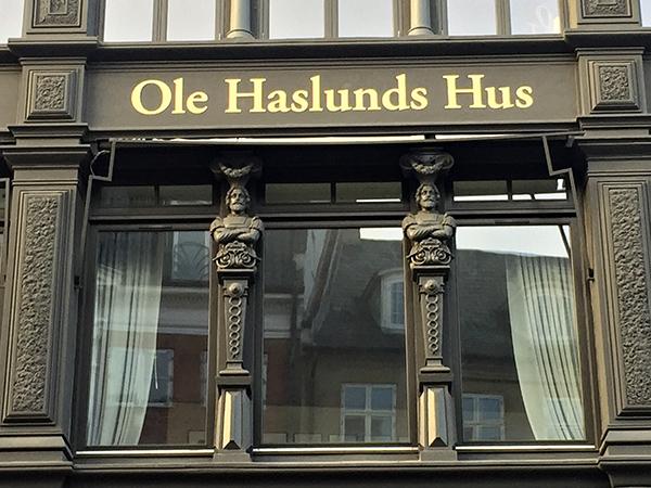 Udsmykning Ole Haslunds Hus