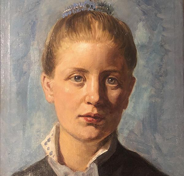 Portrætmaleri. Otto Haslund